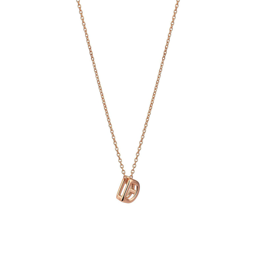 Small Initial Necklaces