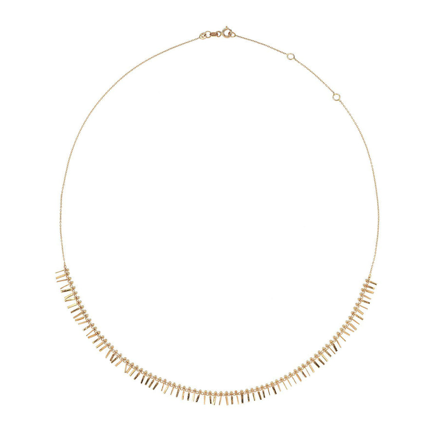 Intensive Tassel Necklace