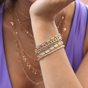 Lumiere Single Row Ball Bracelet