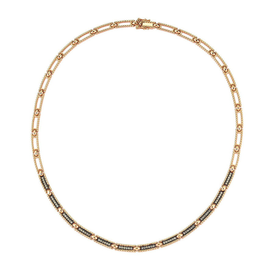 Lumiere Single Row Ball Necklace