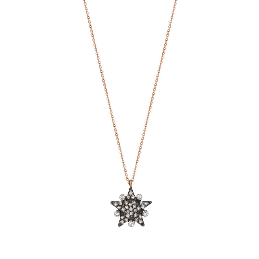 Eclectic Large Star Necklace