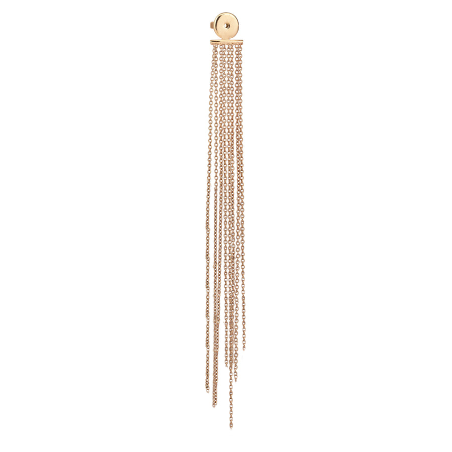 Slim Chain Tassel Backing