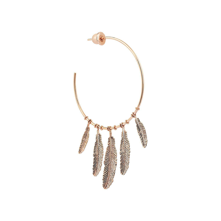 Maxi Feather Hoop