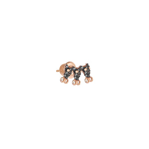 Serpent Arc Earring