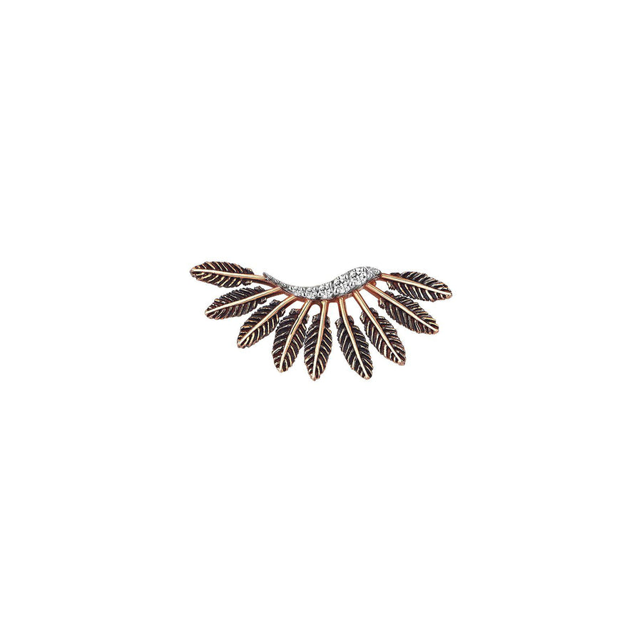 Feather Arc Earring