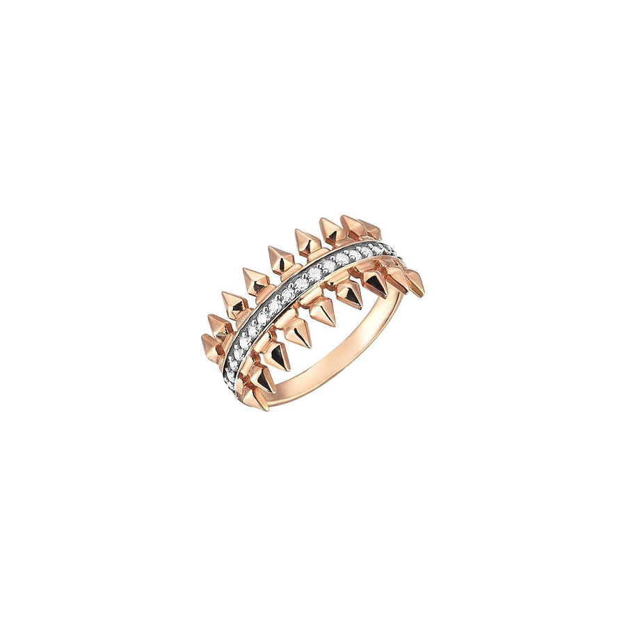 Single Row Arrow Ring