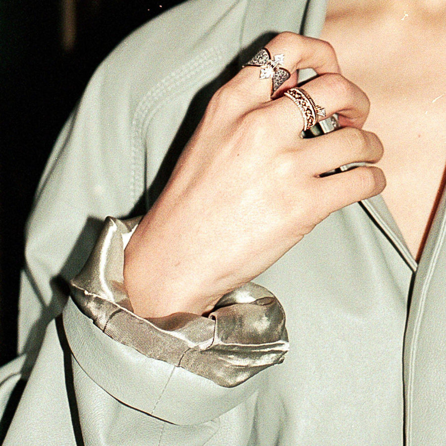 Triangle Drop Ring