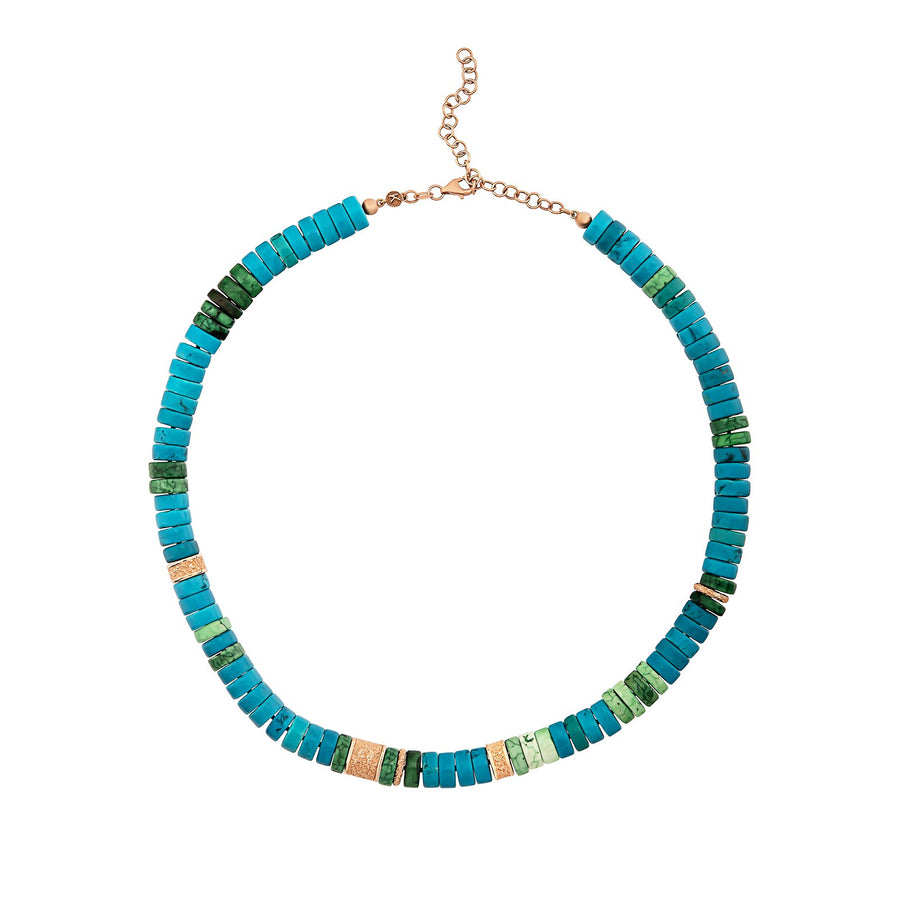 Green and Blue Howlite Turquoise