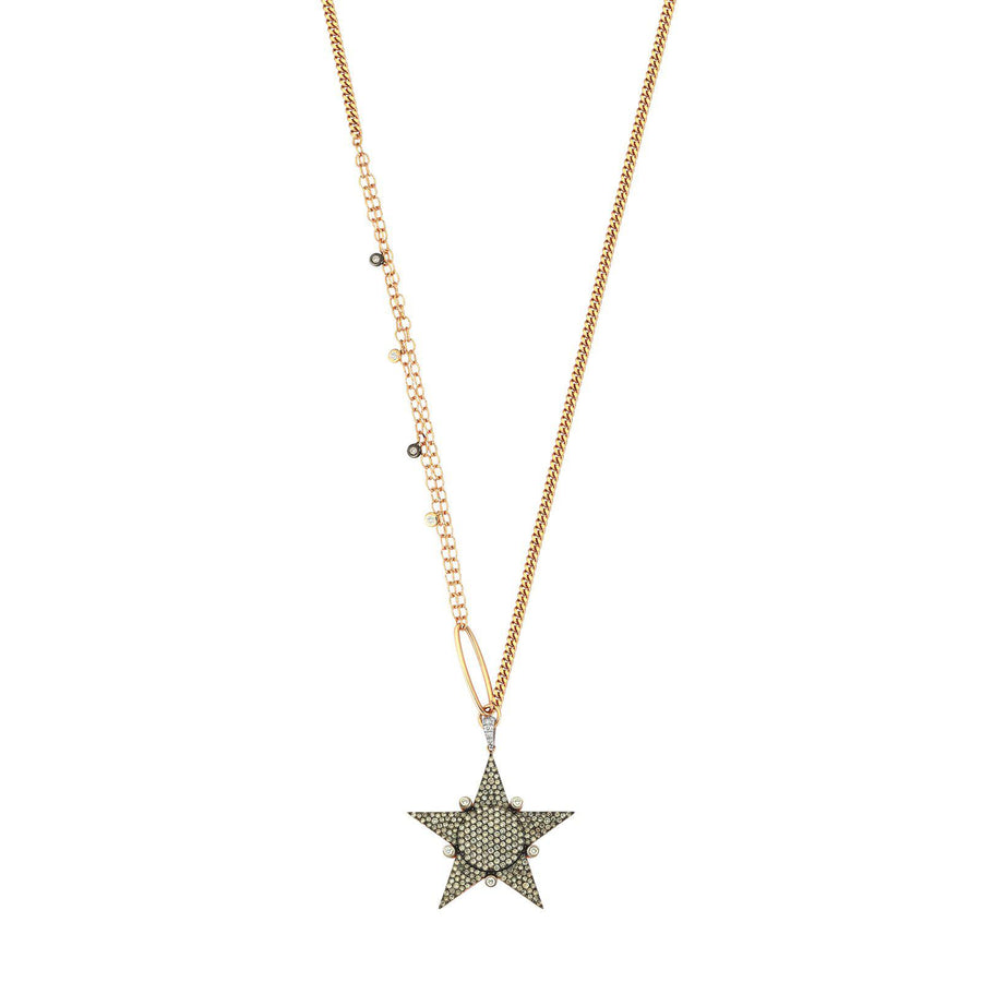 Maxi Eclectic Star Necklace