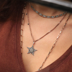 Midi Eclectic Star Necklace