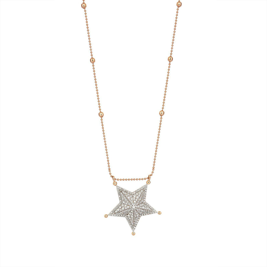 Midi Sheriff Star Necklace