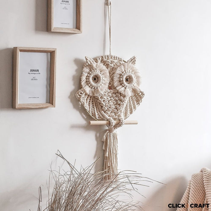 Macrame Kit - Expert - Mother Owl