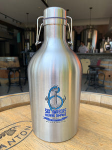 64oz. Stainless Steal Growler