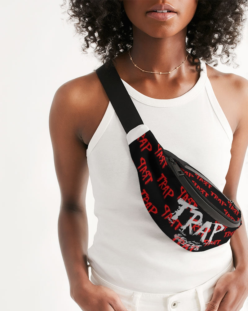 TRAP pattern Crossbody Sling Bag