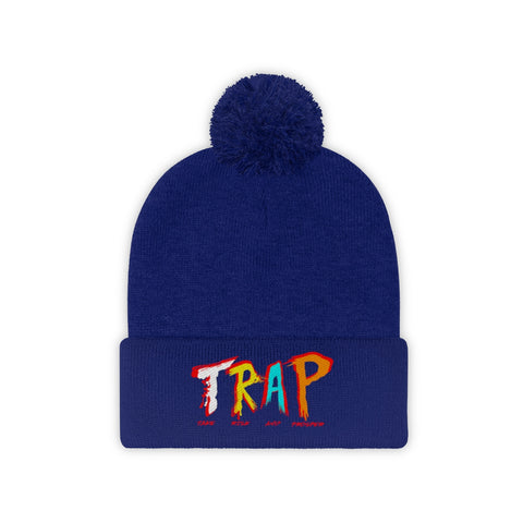 Center City Trap Pom Pom Beanie