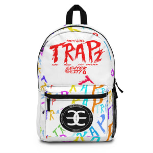 White Pretty Girls Trap 2 Backpack (Made in USA)