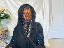 Load image into Gallery viewer, Crochet Face Veil |  Burqa | Bellydancing
