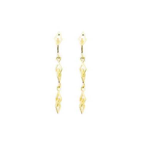 Mini Catena Drop Earrings