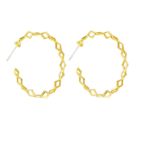 Helix Hoop Earrings