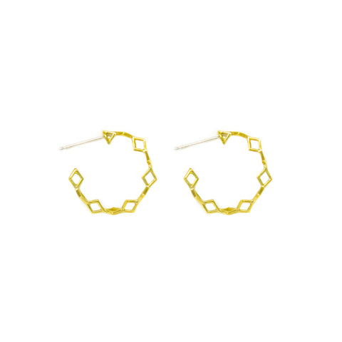 Mini Helix Hoops