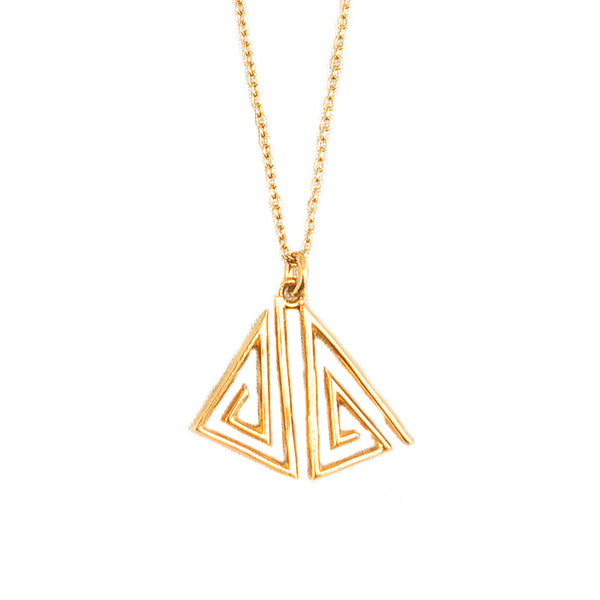 Tri Deco Necklace