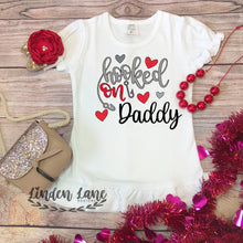Load image into Gallery viewer, Girls Hooked On Valentine's Day Shirt
