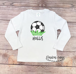 Boys Soccer Ball Shirt
