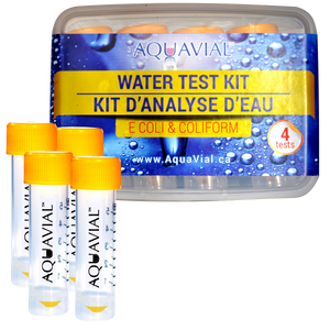 AquaVial Water Test Kit - E. Coli and Coliform