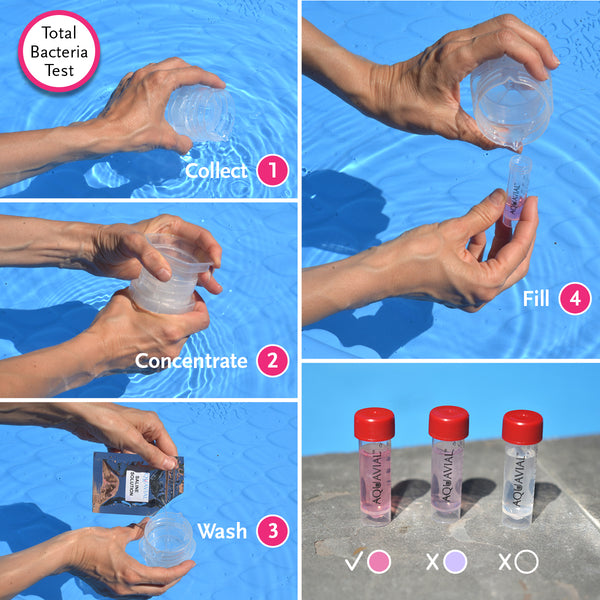 AquaVial Plus Water Test Kit