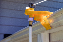 Load image into Gallery viewer, Lay Flat Garden Hose on the Gutter Mount Sprinkler