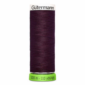 Gütermann rPET Sew-all Thread (100% recycled) #130 Wine