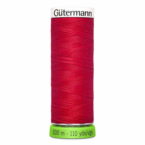 Gütermann rPET Sew-all Thread (100% recycled) #156 True Red