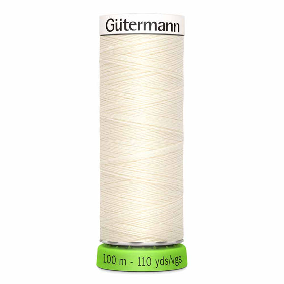 Gütermann rPET Sew-all Thread (100% recycled) #1 Antique