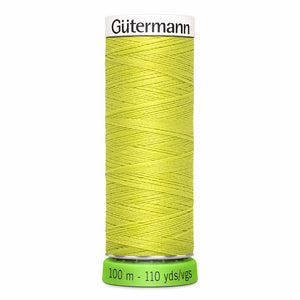 Gütermann rPET Sew-all Thread (100% recycled) #334 Lime