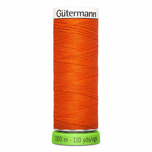 Gütermann rPET Sew-all Thread (100% recycled) #351 Orange