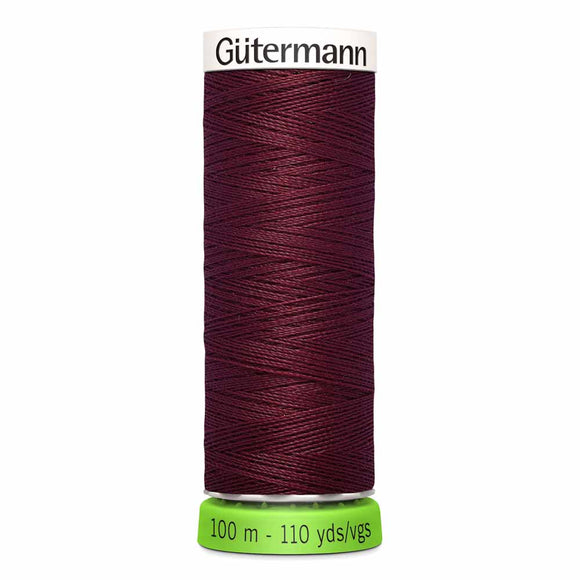 Gütermann rPET Sew-all Thread (100% recycled) #369 Burgundy