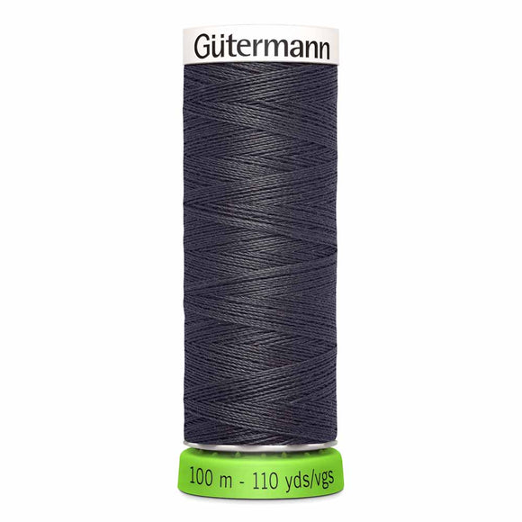 Gütermann rPET Sew-all Thread (100% recycled) #36 Burnt Charcoal