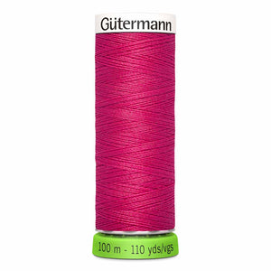 Gütermann rPET Sew-all Thread (100% recycled) #382 Raspberry