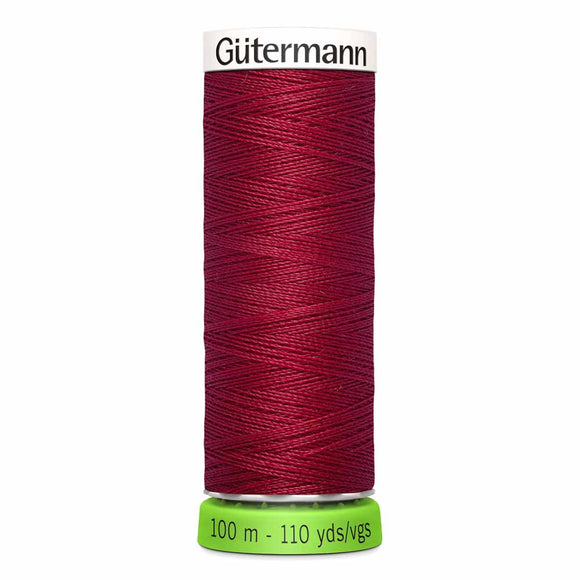 Gütermann rPET Sew-all Thread (100% recycled) #384 Ruby Red