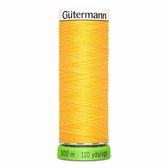 Gütermann rPET Sew-all Thread (100% recycled) #417 Saffron
