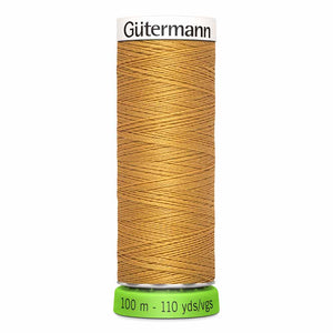 Gütermann rPET Sew-all Thread (100% recycled) #968 Gold