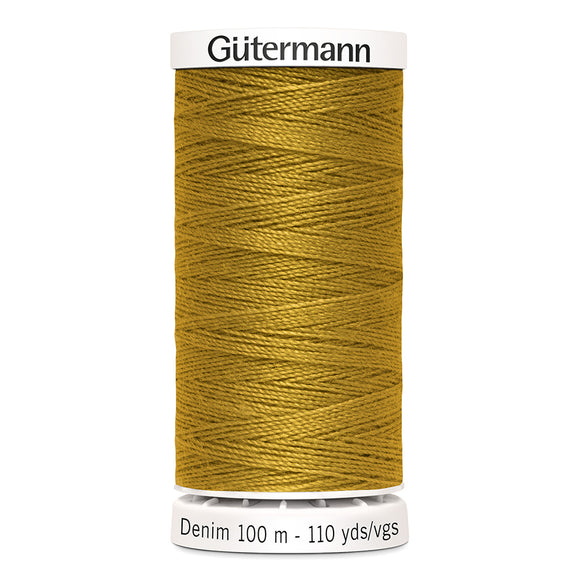 Gütermann Denim Thread #1970 Gold