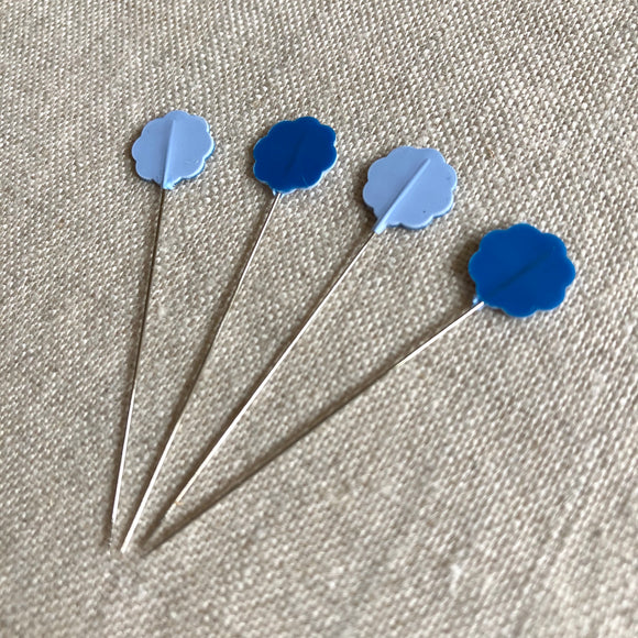 Flower Head Pins - Fine: 20 pcs