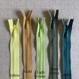 "YKK Invisible Zipper - 24"" Various Colors"