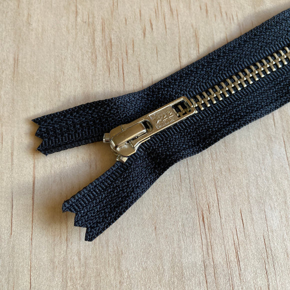 YKK Nickel Jean Zipper - 7