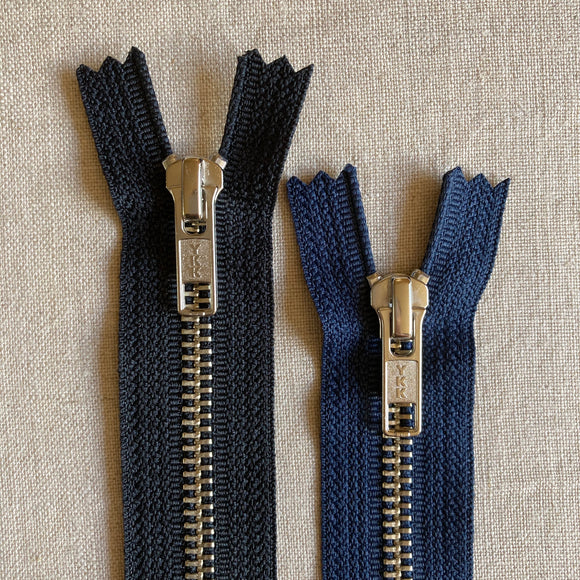 YKK Nickel Jean Zipper - 9