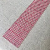 Clear Plastic Quilting/Drafting Ruler