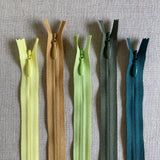 "YKK Invisible Zipper - 22"" Various Colors"