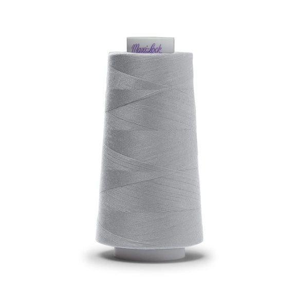 Maxi-Lock All Purpose Serger Thread - Steel