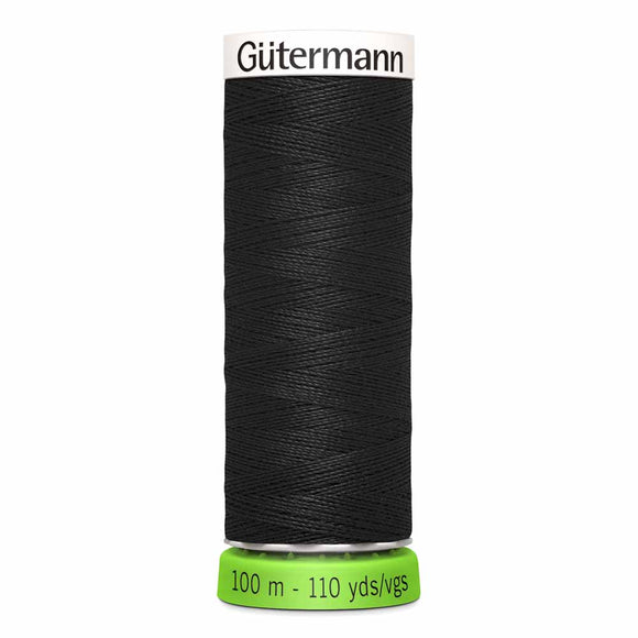 Gütermann rPET Sew-all Thread (100% recycled) #000 Black